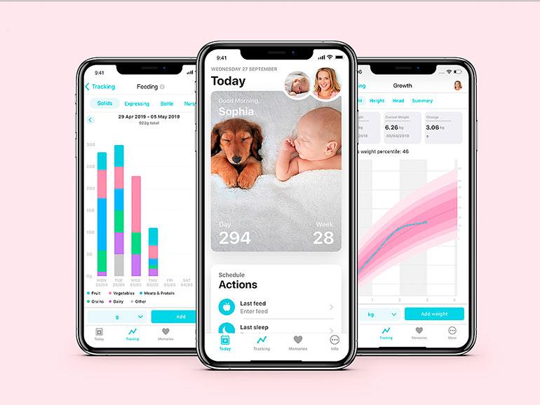 Esta app ofrece información del bebé